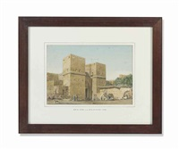 bab al-nusr, cairo (gate of victory) by richard phene spiers