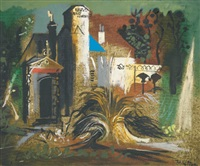 isle of wight hotel by john piper