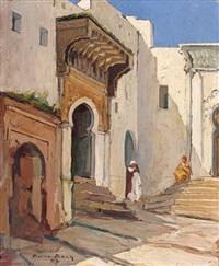 orientaux dans la vieille ville by pierre bach