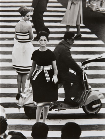 simone nina piazza di spagna rome by william klein