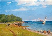 coastal motif by erik abrahamsson