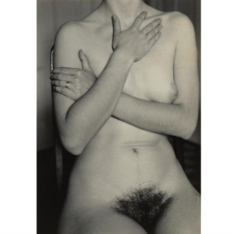 nude study of diane arbus by allan arbus