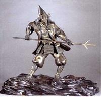 a warrior by yoshimitsu