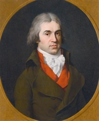 portrait of john henry petty, earl wycombe, later 2nd marquess of lansdowne (1765-1809) by francois-xavier fabre