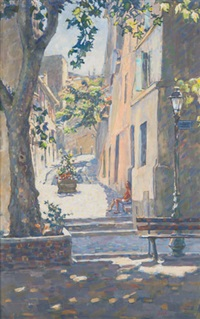 street in provence by mary jane malet