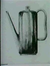 entwurf fur eine kaffeekanne by otto rittweger