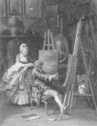 maternité by louise-emilie leleux-girard