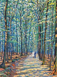 georgenborn sous bois by gustave camille gaston cariot