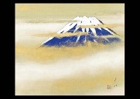 mt. fuji by zenjiro uda
