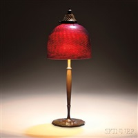desk lamp base by tiffany studios
