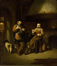 at the blacksmith's by johannes christoffel vaarberg