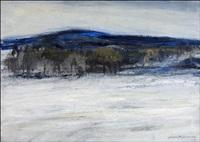 talvimaisema sotkamosta - vinterlandskap från sotkamo by aimo kanerva