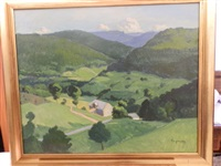 vallée de manster, alsace by pierre-edmond peradon