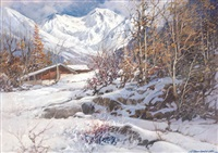 brusson, valle d'aosta by licinio campagnari
