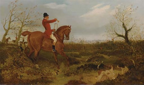 on the scent tally ho pair by george henry laporte