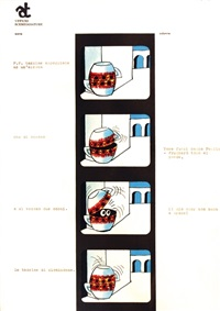 gelosia paulista (storyboard) (18 works) by armando testa