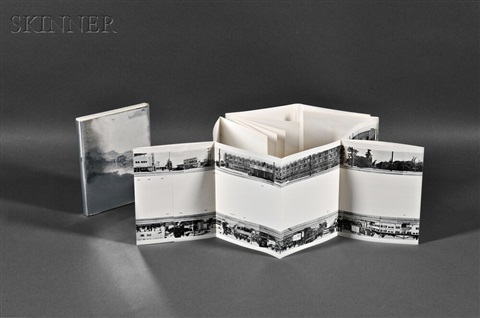 every building on the sunset stripa book by ed ruscha