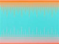 soft turquoise by richard anuszkiewicz