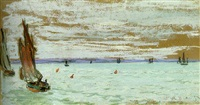 au large by claude monet