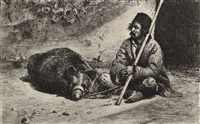 ursarul by theodor aman