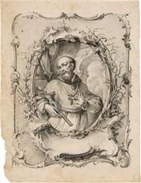der heilige cantius by vitus felix rigl