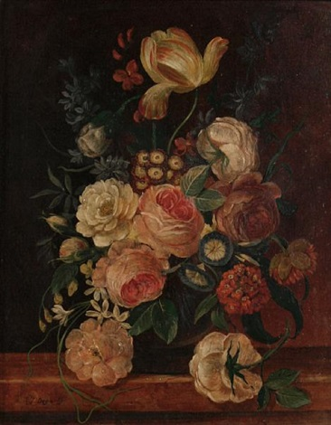 still life flowers another 2 works by erich josef donau dogarth
