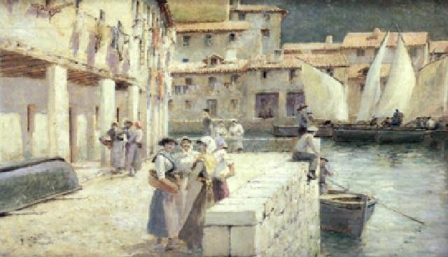 puerto cántabro by tomas campuzano y aguirre