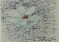 the white flower by vladimir yakovlev
