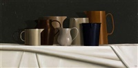 still life - jugs by trudie mooney