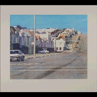 thirty-fourth avenue color by robert bechtle