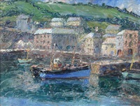 mevagissey, cornwall (and 2 others; 3 works) by piero sansalvadore