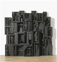 sky cathedral (in 30 parts) by louise nevelson