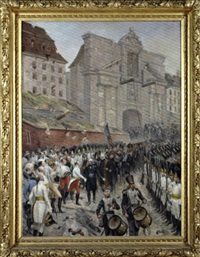 la reddition d'ulm (after edouard detaille) by lucien przepiorski