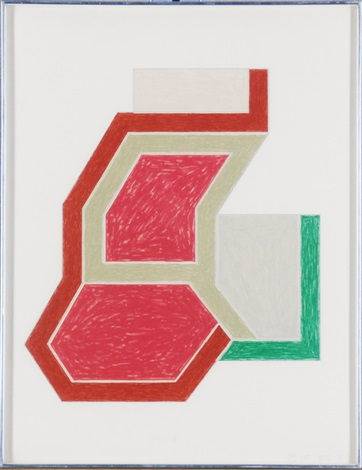 sunappe by frank stella