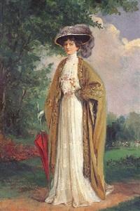 portrait de la princesse marie bonaparte by madame m. fournier-sarlovèze