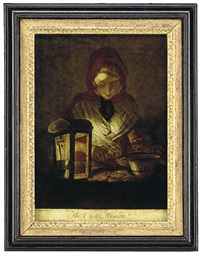 the oyster woman by henry robert morland