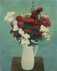 a bouquet in a jug by zdenek kremlicka