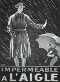 impermeable a l'aigle by gotthelf