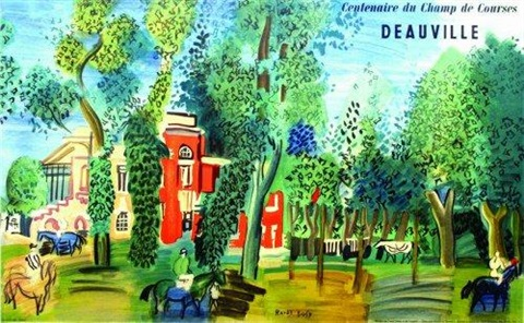 deauville by raoul dufy