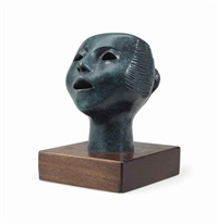 singing head by elizabeth catlett