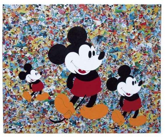 trois mickeys by patricia cazalé