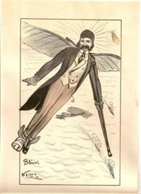 Les pionniers de l'aviation (7 works), 1910