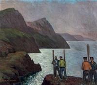 pescadores by valentín de zubiaurre