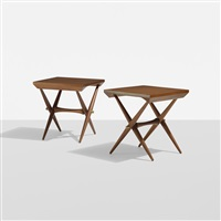 occasional tables (pair) by jens quistgaard