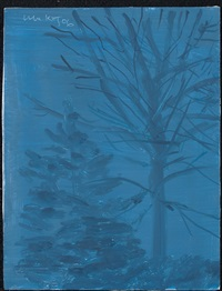 midnight by alex katz