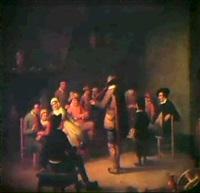 marche st catherine by jean van cleemput
