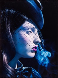 kiss of death #1 by miles aldridge