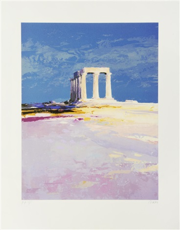 the temple of apollo harbour steps kintyre southerland 4 works by donald hamilton fraser