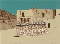 pueblo dance by fritz scholder