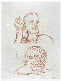 deux autoportraits by frank dornseif